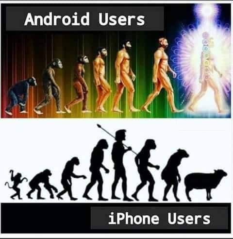 android user vs iphone users biblipole