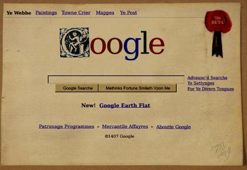 first_google_home_page