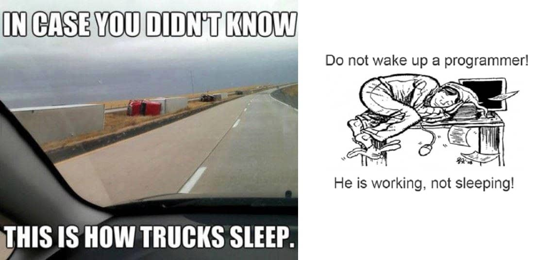 how_trucks_sleep_and_how_programmer_sleep