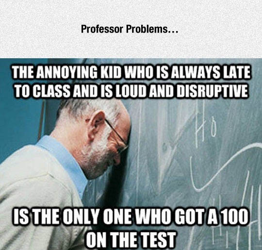 is_the_only_one_who_got_a_100_on_the_test