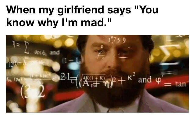 Girl im not dating is always mad at me