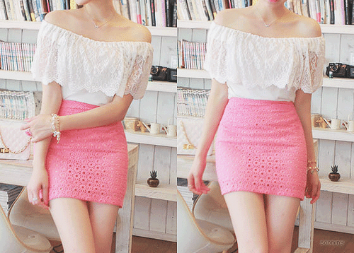 white_and_pink_short_dress